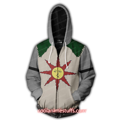Dark Souls - Knight Solaire Zip Up Hoodie