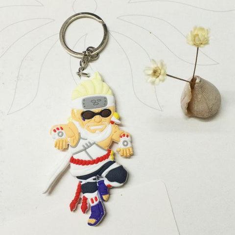 Image of Naruto action figure keychain