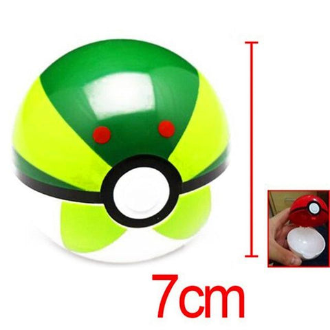 13 styles 1pcs 7cm ABS Pokeball + 1pcs F Anime Pokeball s Toys