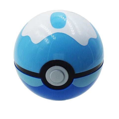 Image of 13 styles 1pcs 7cm ABS Pokeball + 1pcs F Anime Pokeball s Toys