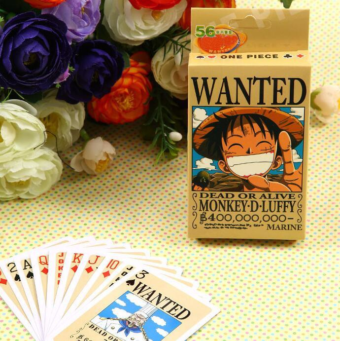 54pcs/pack One Piece Luffy Card Game