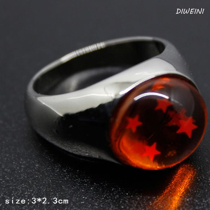 1Pcs Hot sale Dragon Ball Ring