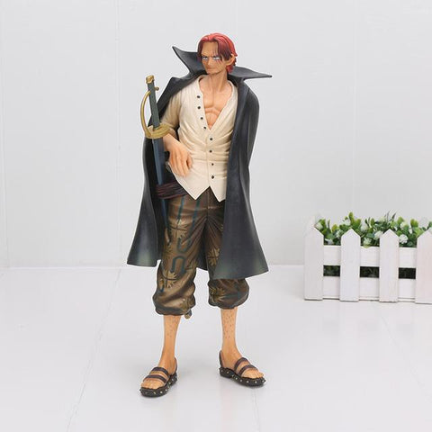 Image of 25-27cm Anime One Piece Monkey D Luffy Ace Sabo Shanks Trafalgar Law Figure Action Toys