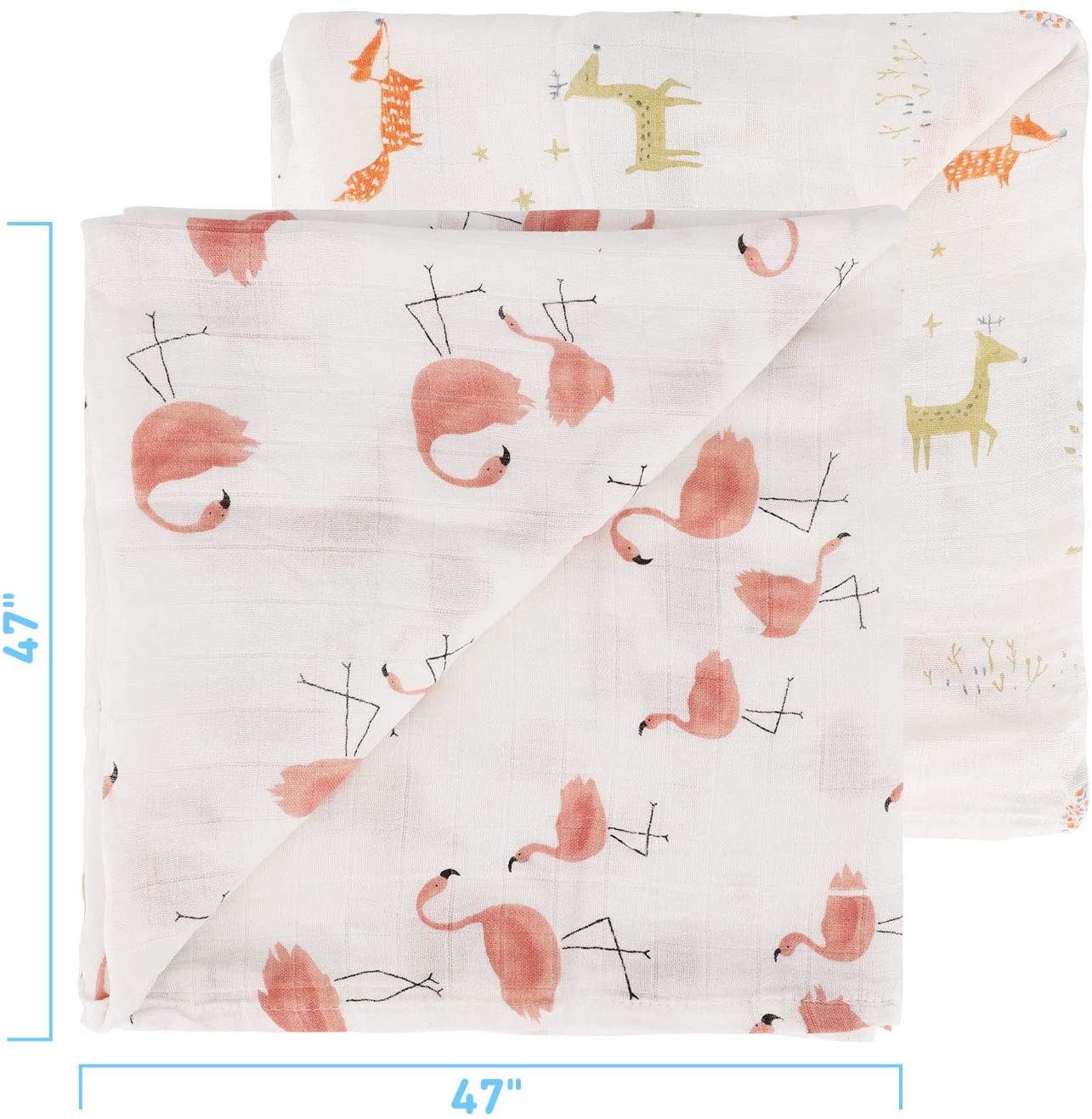 Baby Swaddle Blanket - 2packs