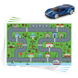 Disposable Stick-on Placemats 40 Pack
