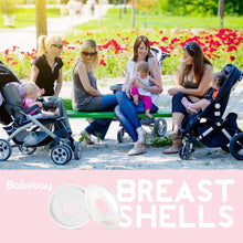 Load image into Gallery viewer, Breast Shells, 4 Pack Nursing Cups