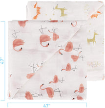 Load image into Gallery viewer, Baby Swaddle Blanket, Bamboo Muslin Swaddle Blanket