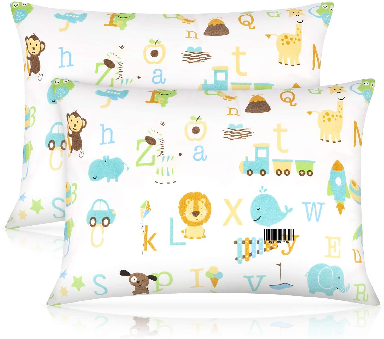 Toddler Pillow with Pillowcase Unisex 2pack