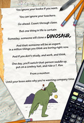 Dino Education poster