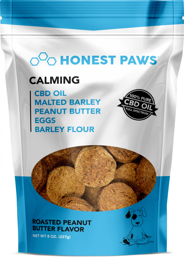 "Honest Paws ""Calming Strain"" Peanut Butter"