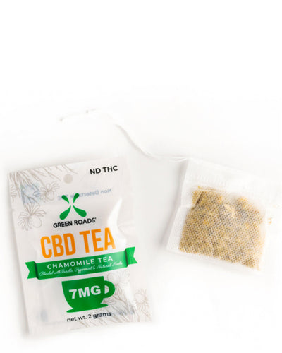 Chamomile Tea with CBD