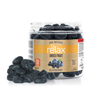 Relax CBD Dried Fruit Blueberry 250 mg Jar