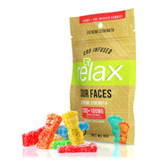 "Relax Gummies ""Sour Faces"""