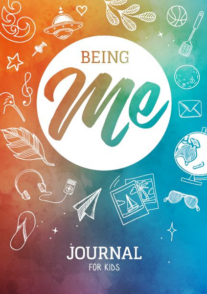 Being me journal for kids mindfulness journal gratitude kids encouraging kindness