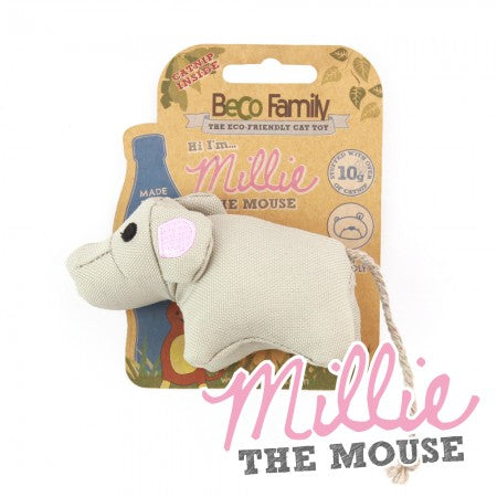Millie the Mouse - Catnip Toy
