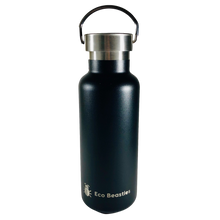 Load image into Gallery viewer, Eco Beasties Reusable Jerry Bottle 550ml - Black Sea