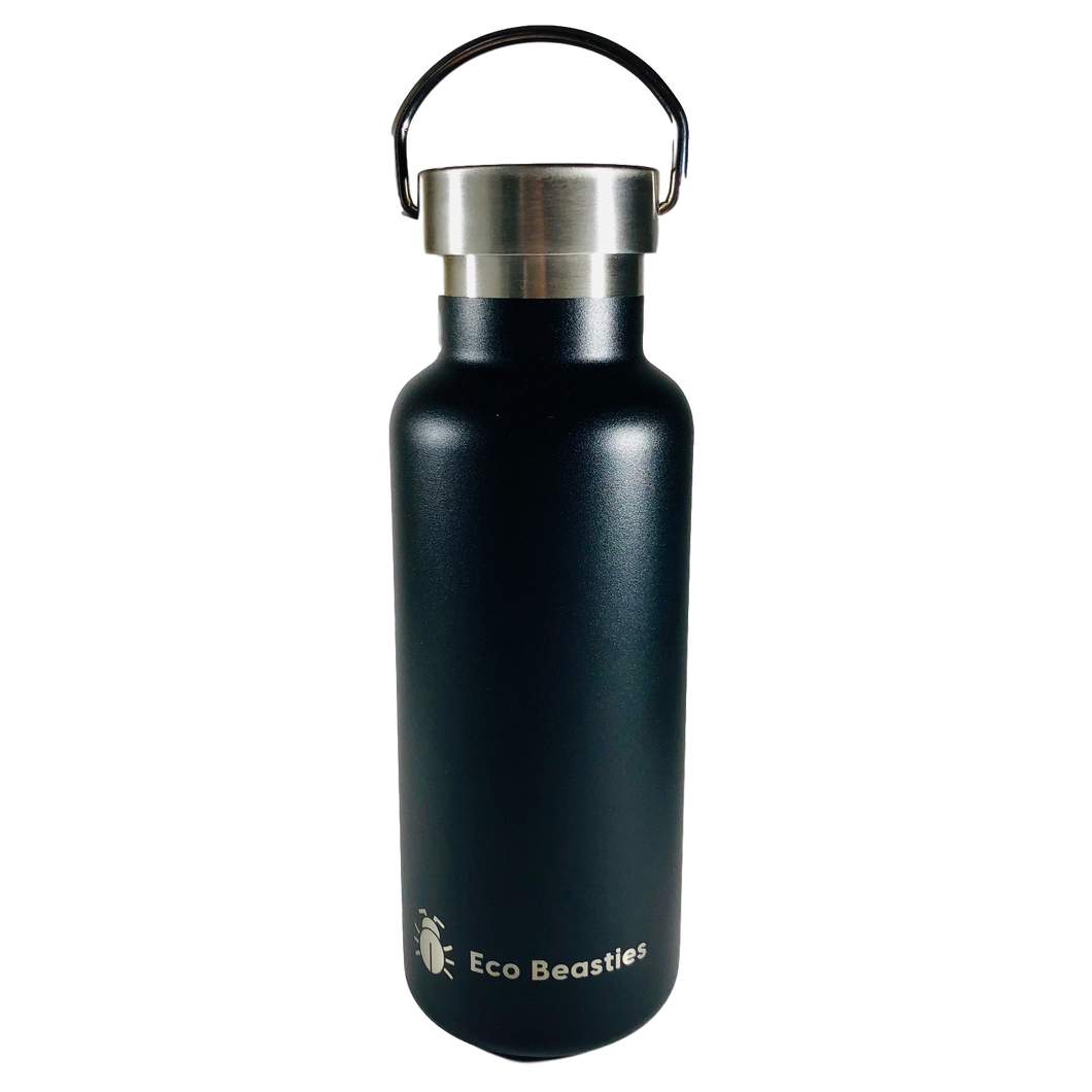 Eco Beasties Reusable Jerry Bottle 550ml - Black Sea