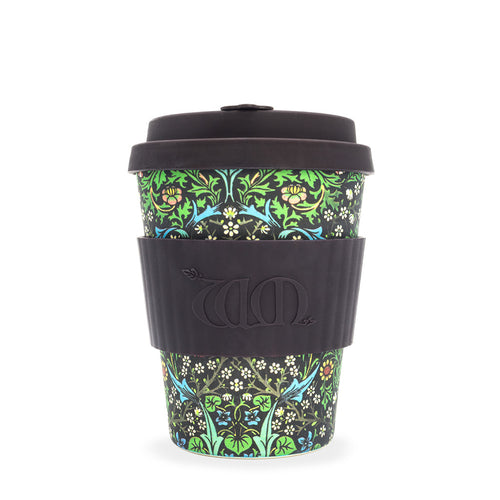 Ecoffee Cup 12oz - William Morris, Blackthorn