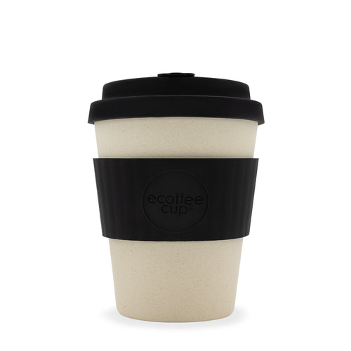 Ecoffee Cup 12oz - Black Nature