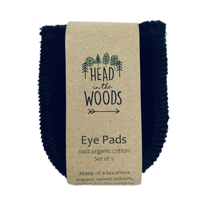 Reusable Eye Pads - 5 pack- by Head in the Woods
