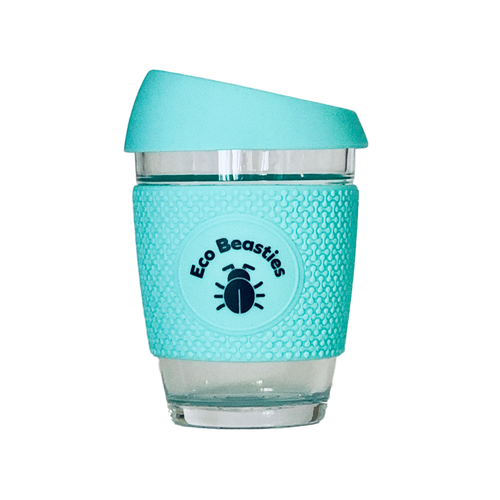 Neon Kactus Reusable Coffee Cup | Free Spirit 12oz - Eco Beasties Collection