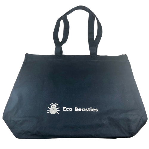 Eco Beasties Maxi Tote Bag - French Navy