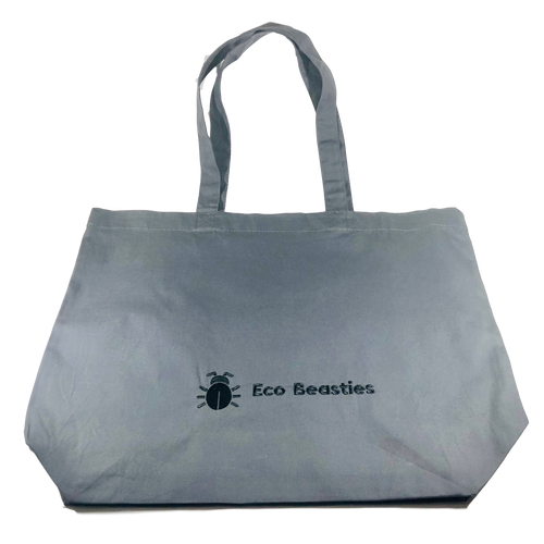 Eco Beasties Maxi Tote Bag - Graphite Grey