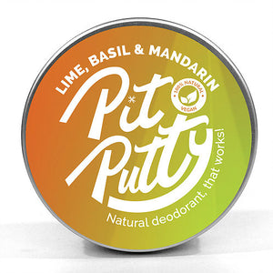Natural Deodorant by Pit Putty - Various Scents - Vegan