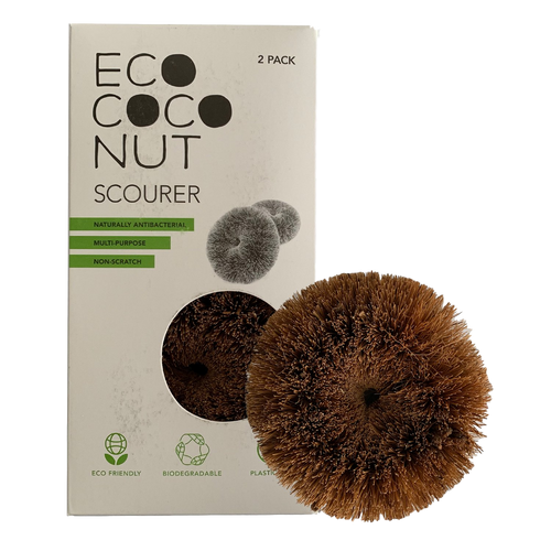 EcoCoconut Scourers - 2 pack