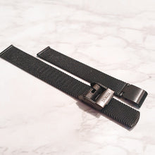 Load image into Gallery viewer, Dorsya black mesh strap