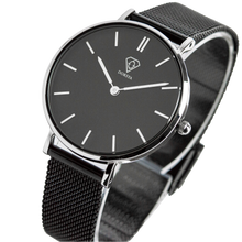 Load image into Gallery viewer, Dorsya | Cronus black mesh minimal watch £89