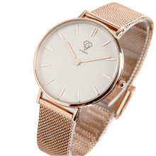 Load image into Gallery viewer, Dorsya | Nortia rose gold minimal watch £89