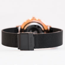 Load image into Gallery viewer, Fortuna | black mesh strap |  Dorsya