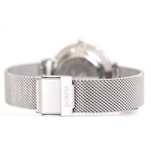 Load image into Gallery viewer, Cronus | silver mesh strap | Dorsya