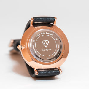 Mercury | stainless steel rose gold watch case | Dorsya