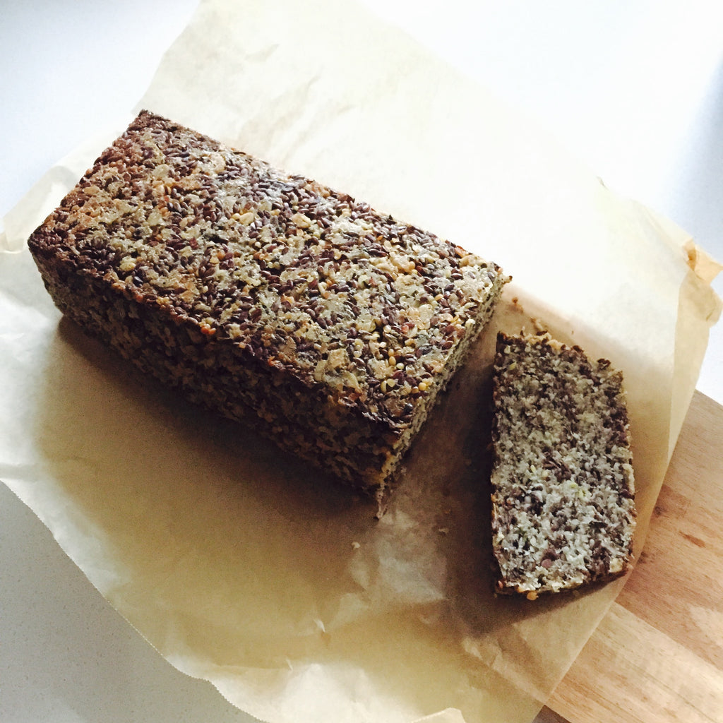 HEMP + FLAXSEED BREAD
