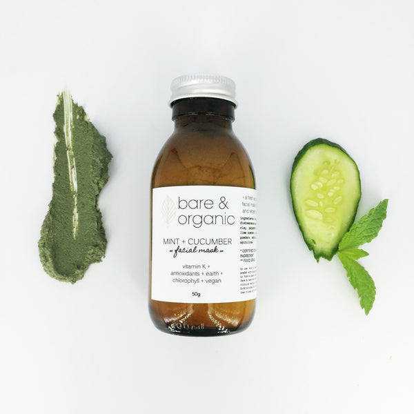 MINT + CUCUMBER || facial mask