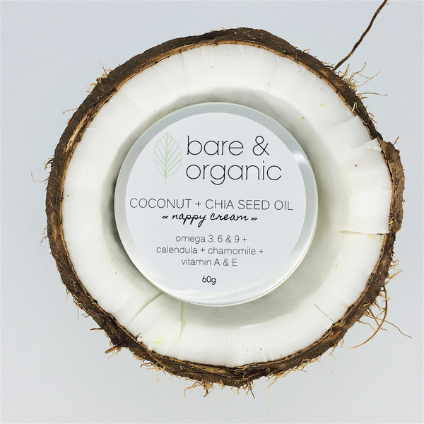 COCONUT + CHIA SEED OIL || nappy cream