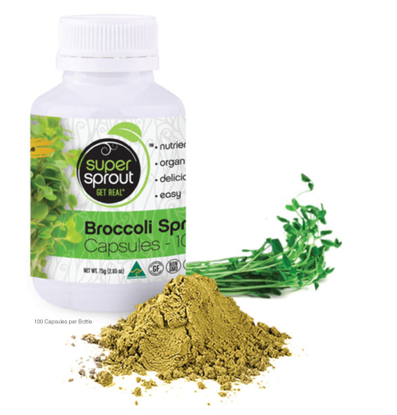 BROCCOLI SPROUT POWDER || capsules