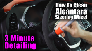 How To Clean Your Alcantara Suede Parts