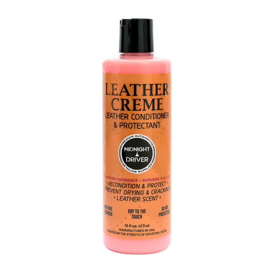 Midnight Driver Leather Creme Leather Conditioner Protectant