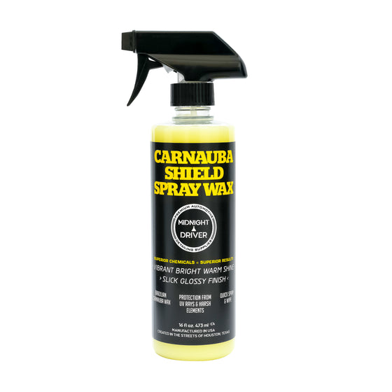 Midnight Driver Carnauba Shield Spray Wax