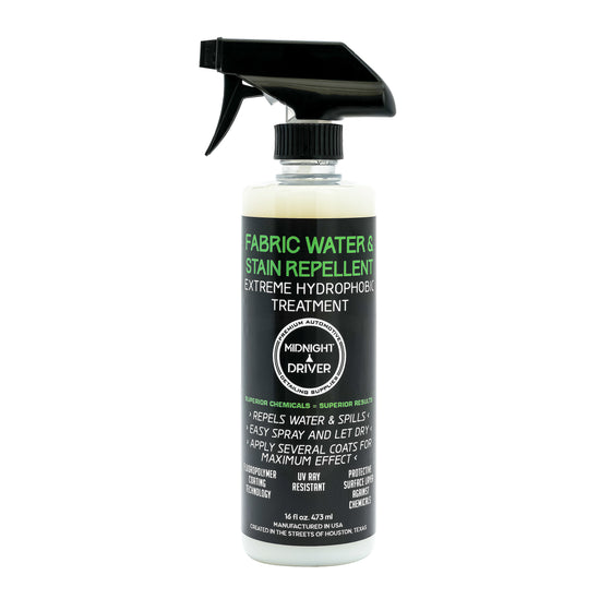 Midnight Driver Fabric Water Stain Repellent