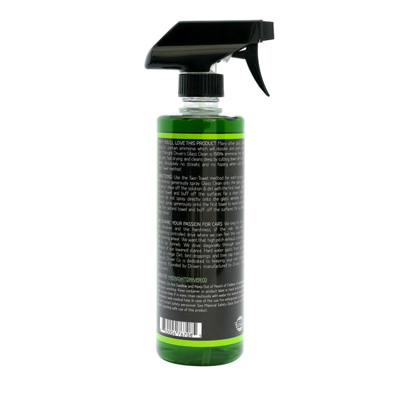 Midnight Driver Glass Clean Streak Free Window & Glass Cleaner
