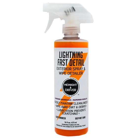 Limited Edition Lightning Fast Detail Orange