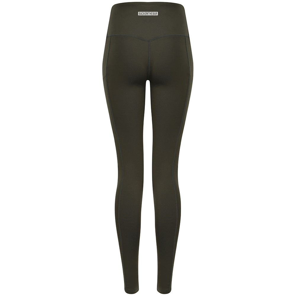 Women's Core Leggings - Olive Green