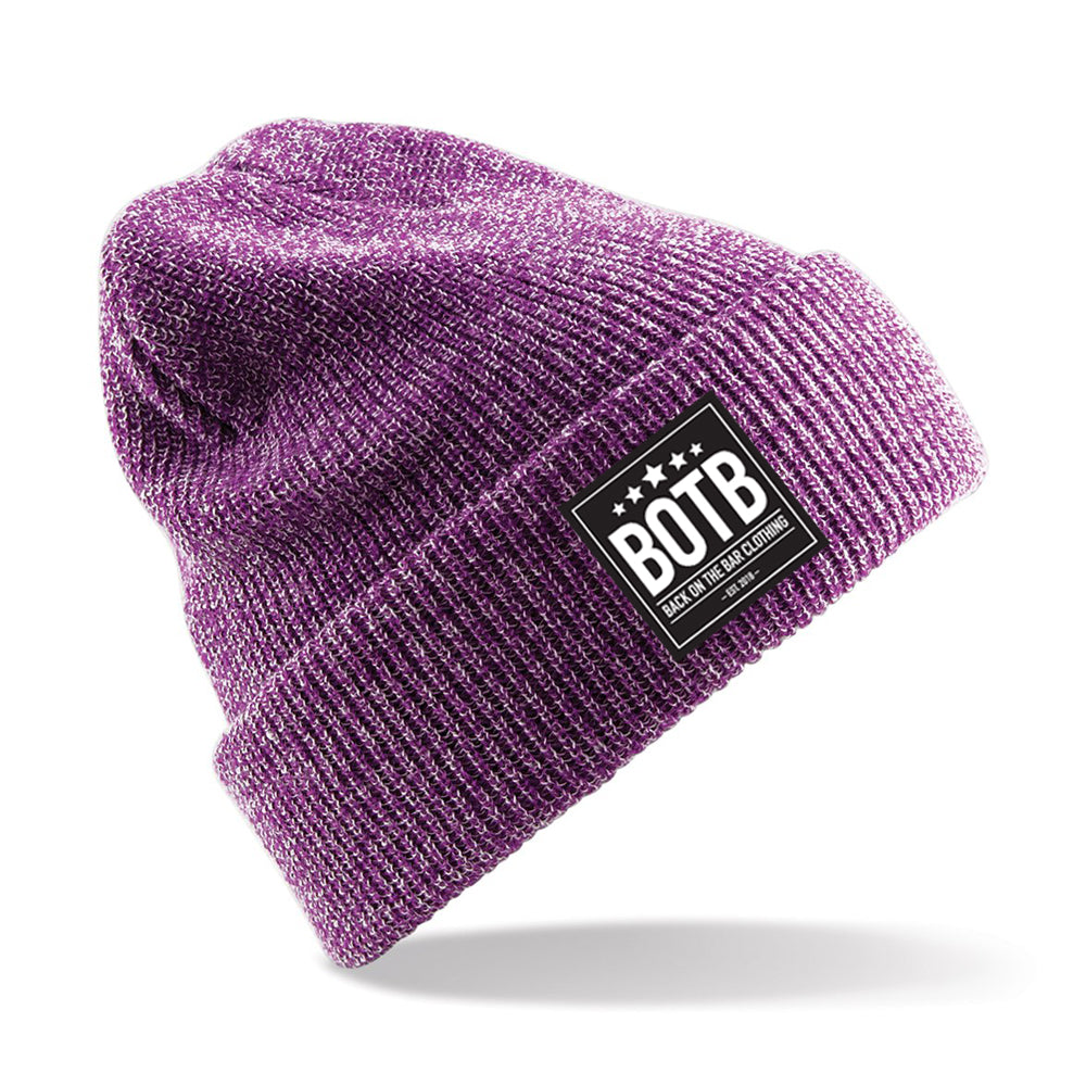 Heritage Beanie - Heather Purple