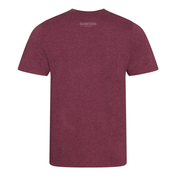 BOTB Outline T-Shirt - Heather Burgundy