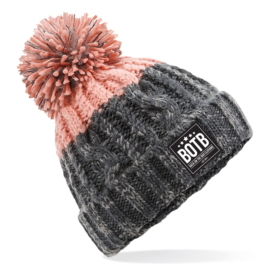 Apres Beanie - Graphite Grey / Blush