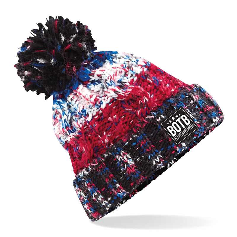 Corkscrew Beanie - Black Jacks